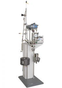 4523 Reaktor, 1000 ml, mit Getriebe, Doppelkondensator, Spiralrührer