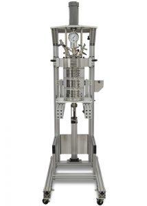 """4557 Bodenstandreaktor, 10 Liter, """"Fixed Head"""", 3-Zonen Bandheizung, mit Split-Ringen und Pneumatiklift"""