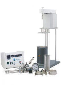 4563 Mini-Reaktor, 600 ml, PTFE Flachdichtung, 4848 Controller; mit optionalen Erweiterungsmodulen.