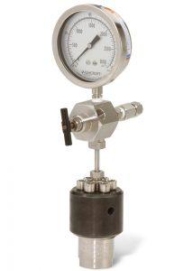 Modell 4740-25 ml Behälter mit Manometereinheit