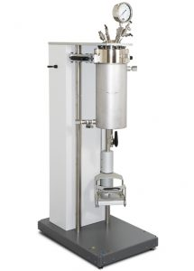 4660-2G, Fixed Head Floor Stand, with Welded Jacket and Pneumatic Lift.