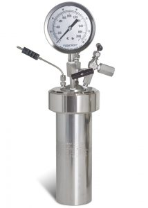 Model 4760-600mL-VGR with O-ring seal, and optional single inlet valve