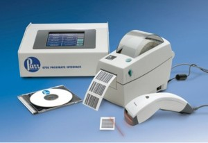 6750 Proximate Interface Shown with Standard Barcode Support Package