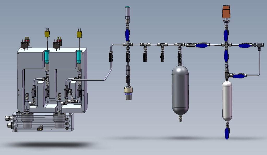 CAD Model for the Vapor Pressure Apparatus