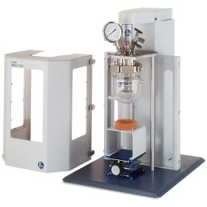 5111 Bench Top Reactor, 1000 mL, Fixed Head, Glass Jacketed Vessel.