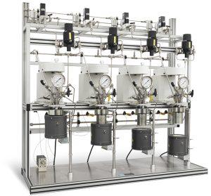 Parallelsystem von vier Reaktoren