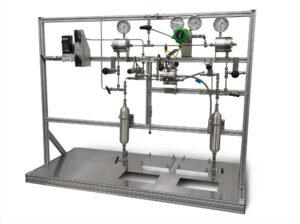 High Pressure Electrolyzer Recirculating Flow System (pumps not shown)