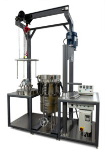 100 L Stirred Reactor with head assembly removed