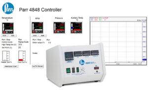 Parr 4848 Regler und ein Beispiel der SpecView Software