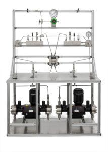 Custom High Pressure Electrolyzer Recirculating Flow System