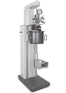 4577 High Temp/High Pressure Reactor, Floor Stand, Fixed Head, 1000 mL w/Heater & Pneumatic Lift