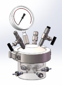 Custom Multiple Chamber Cell Disruption Vessel