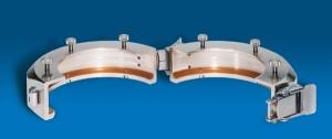 Split Ring for Glass Reactors