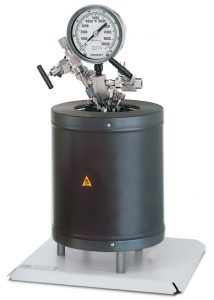 4650-500mL Removable Head Vessel with Bench Top Heater and Base Plate