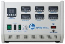 4848B Reactor Controller with six panel meters