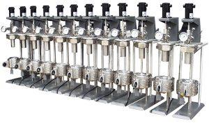 Twelve Reactor Parallel System