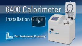 Parr 6400 Calorimeter Installation Video