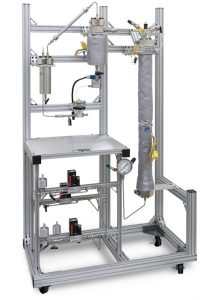 Fluidized Bed Reactor; Flex Mantle Heater Wrap; Cyclonic Separator. 2 gas feeds w/auto shut-off valves and pressure control plus a 4871 process controller