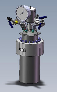 Custom 4580 Non-Stirred Pressure Vessel