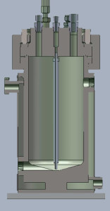 Welded Jacket Cross Section showing Custom Ports