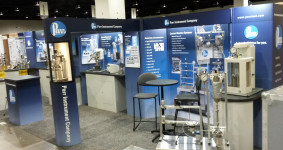 Parr Booth Display at ACS Spring show in Denver