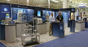 Kevin Lucas and Tim Lehman at the ACS Fall National Meeting in Boston