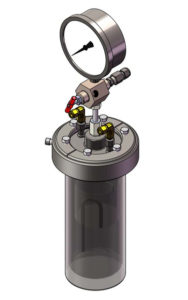 4632 Pressure Extraction Vessel, 2000 mL
