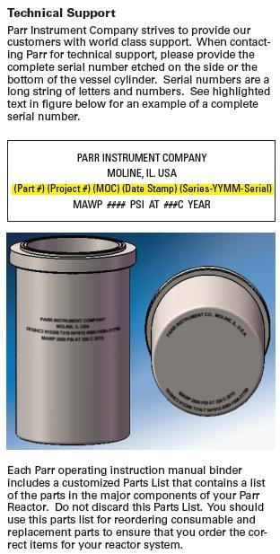 Parr USA - Parr Instrument Company