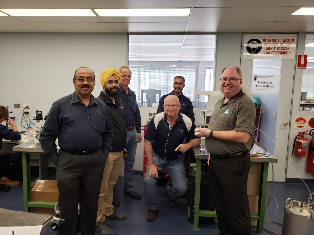 Steve Lierly and Service Technicians from John Morris Group at the Sydney branch.