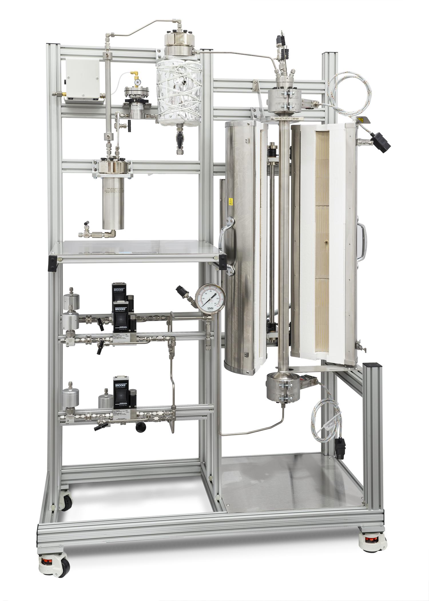 5410 Fluidized Bed Reactors - Parr Instrument Company