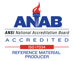 ANAB Symbol for 17034 Reference Material Producer