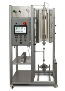 New Continuous Flow Tubular Reactor with Touchscreen Control