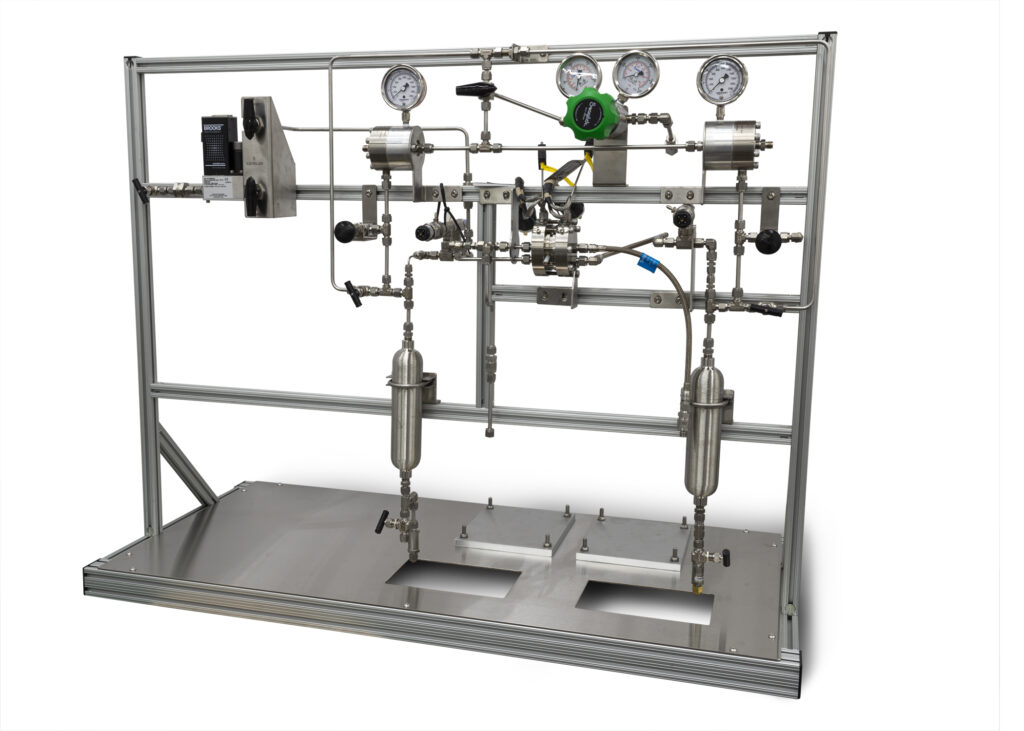 High Pressure Electrolyzer Recirculating Flow System (pumps not shown)