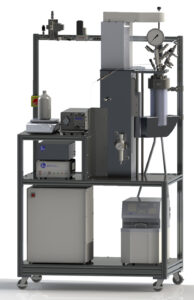 Parr 4540, 1.2 L Reactor, with H2 and liquid feeds, equipped for Power Compensation Calorimetry