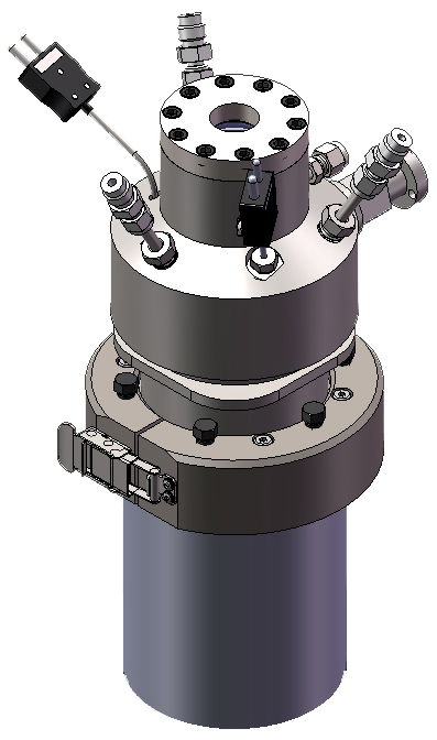 """Series 4600 1L Pressure Vessel with 1""""  integral sapphire window assembly"""