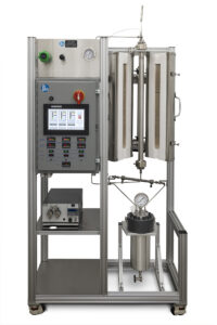 High Pressure, High Capacity Tubular Reactor System with Touchscreen Control